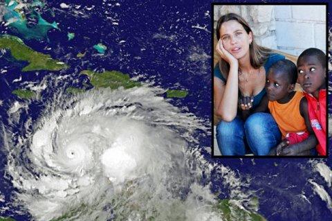PÅ VEI: Ingvill Konradsen Ceide driver flere humanitære prosjekter på Haiti, der også ektemannen hennes bor. Hun er bekymret for orkanen som er ventet å treffe land mandag.