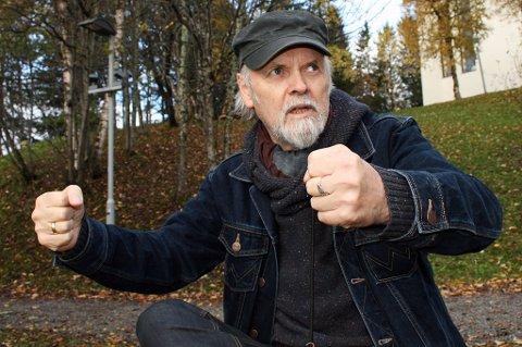 Svein Arild Berntsen forteller om voldsomhetene som utspant seg på flyet.