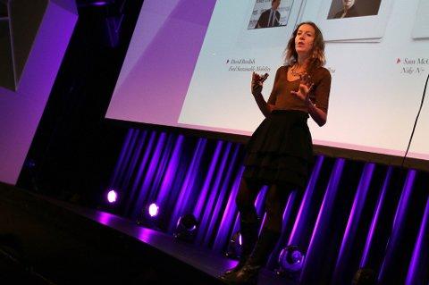 Alexa Clay, forfatter og grunnlegger av Intraprenør-bevegelsen.