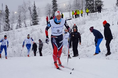 Anna Svendsen kan få muligheten i verdenscupen i langrenn neste helg. En sterk klassisk tikilometer søndag vil kunne sikre den plassen.
