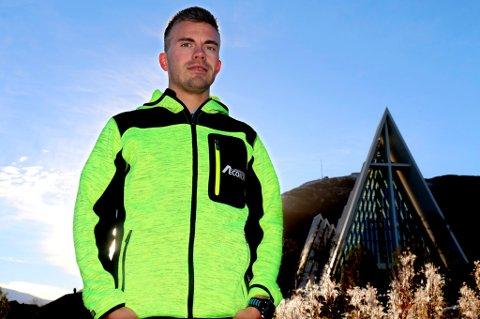 Kristian Ulriksen legger bak seg et sted mellom 5500 og 5600 kilometer i 2016. Det tilsvarer gangavstand fra Tromsø til Marokko eller Iran. Neste år er planen å øke dosene.