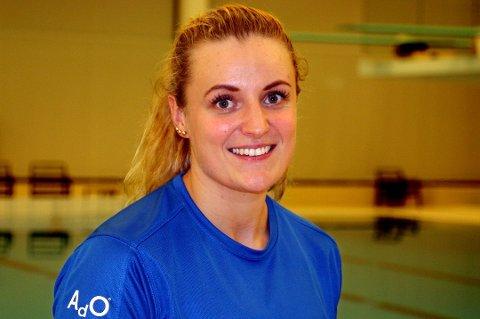 Susann Bjørnsen fra Setermoen er klar for VM i svømming.