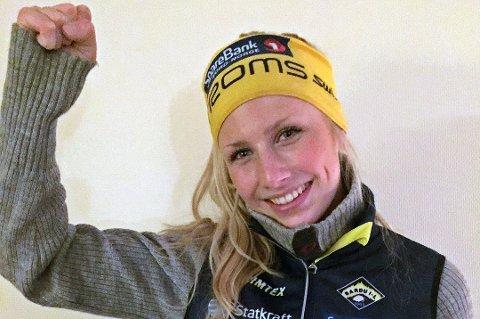 Johanne Heimdal slo til med en sjetteplass i juniorklassen på Lillehammer.
