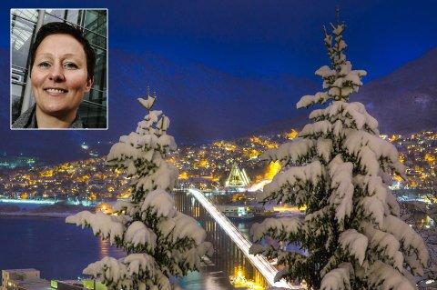 VOKSER: Ifølge SSBs prognoser har Tromsø fått over 1000 nye innbyggere i 2016. Det er gledelig nytt, mener ordfører Kristin Røymo (Ap (innfelt).
