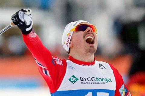 SEIER: Finn Hågen Krogh vant verdenscuprennet i La Clusaz lørdag 17.desember.
