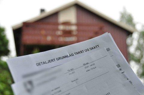 ENDRER: Etter å ha fakturert eiendomsskatt hver måned siden starten på året, går Tromsø kommune tilbake til to terminer i året. Mange hytte- og boligeiere klaget på praksisen, som medførte mange faktura med små beløp.