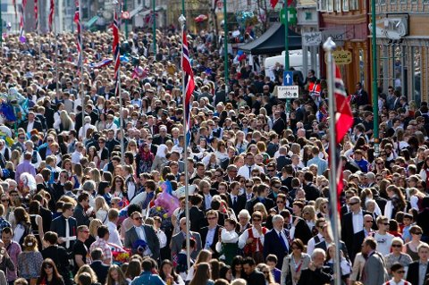 KALDESTE 17. MAI: Den kaldeste nasjonaldagen i Norge noensinne ble målt i Kautokeino i 1996. Da var det 14,2 minusgrader her.