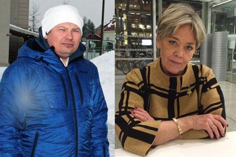 KRITISKE: Rune Bakkejord og Anna Amdal Fyhn er kritiske til den lave saksmengden som kommer til administrasjonsutvalget.