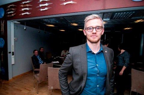 SPENT: Brage Larsen Sollund (Ap), byråd for oppvekst, utdanning og idrett i Tromsø, har hørt ideen om å selge Valhall tidligere. Nå er han spent på reaksjonen fra idrettsmiljøet i kommunen på forslaget fra Høyre.