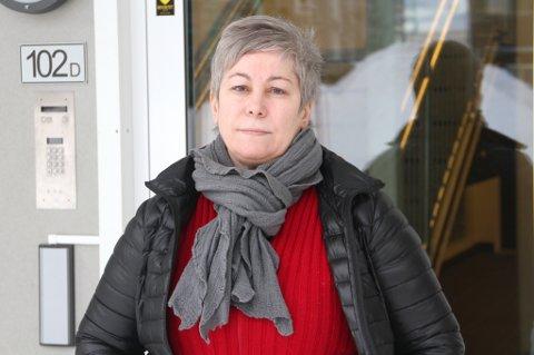 FRUSTRERT: Styreleder i Sjøsia Start Boligsameie, Berna Kargi Kampevoll, er frustrert etter fredagens hævrverk.