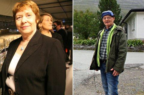 SLÅS SAMMEN? Gunda Johansen (Ap) og Knut Jentoft (Tverrpolitisk liste), ordførere i henholdsvis Balsfjord og Storfjord, kan gå i samtaler om å slå sammen kommunene.