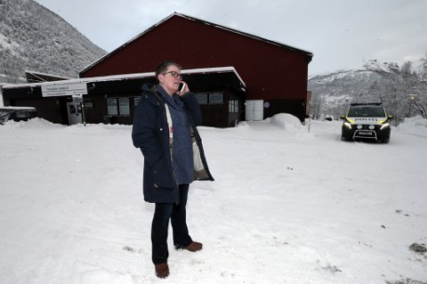 REKTOR: Rektor Toril Hvalryg ved Tromsdalen videregående skole har sendt alle elevene hjem torsdag.