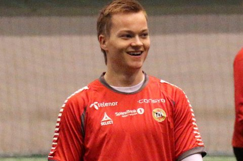 Aron Sigurdarson fikk spille for Fjölnir torsdag, men etter kampen erkjente hans trener August Thor Gylfason at det ser ut til at 22-åringen blir TIL-spiller.