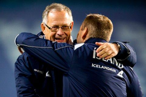 Lars Lagerbäck har hatt stor suksess som Island-trener og ledet den lille nasjonen til sommerens EM-sluttspill i Frankrike. I vinter ga han Aron Sigurdarson sin A-landslagsdebut, og svensken snakker overfor Nordlys veldig varmt om TILs kvikke kantspiller.