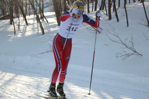 IMPONERTE: Agnethe Kaasen imponerte under helgas NNM i Alta.