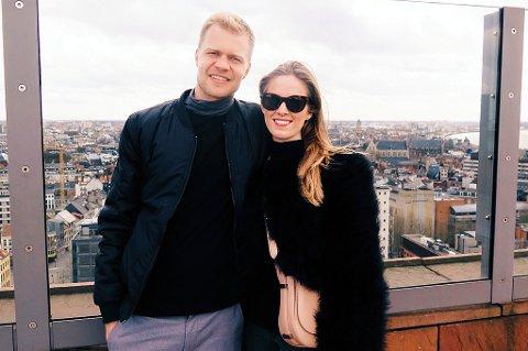 Jo Nymo Matland i sin nye hjemby Antwerpen søndag 1. påskedag, sammen med kjæresten Silje Hammervold Hoff. 28-åringen forteller her om reaksjonene i Belgia etter terroren som rammet hovedstaden Brussel, og om sin nye hverdag som fotballspiller i Belgia.