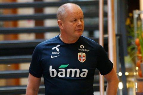 Det er foreløpig usikkert om Norge kommer til å møte Belgia som planlagt i Brussel i juni. Landslagssjef Per-Mathias Høgmo lar den beslutningen være opp til belgiske myndigheter.