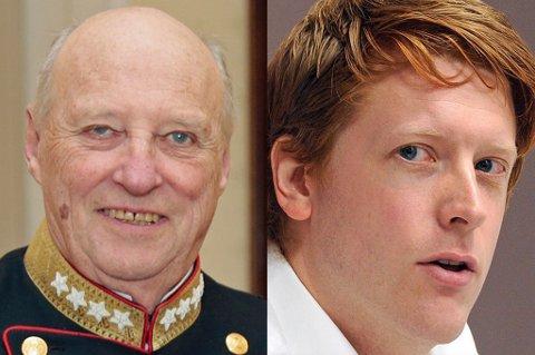 FÅTT SPARKEN: Om Martin Henriksen skulle bestemme hadde Norge vært republikk, og kongefamilien avsatt. Foto: NTB Scanpix