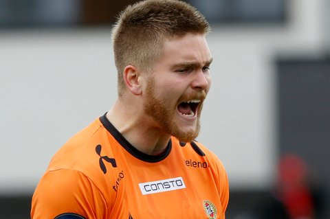 Gudmund Taksdal Kongshavn ser ut til å bli TILs førstevalg på keeperplass når serien starter med bortekamp mot Molde neste helg.
