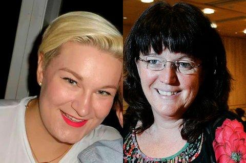 Eirin Kristin Kjær og Marianne Bremnes representerer begge Arbeiderpartiet, men er svært ueninge om oljeutvinning i nord.
