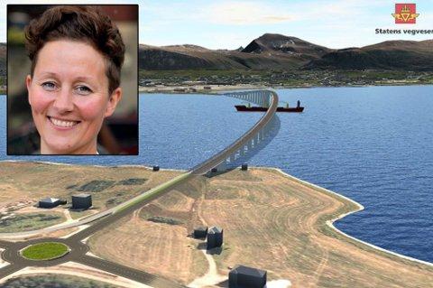 SNUDDE: I valgkampen lovet Kristin Røymo å gå for Håkøya-alternativet. Så snudde hun.