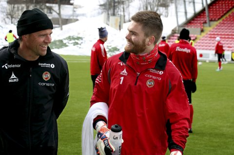 REKORDJAKT: Gudmund T. Kongshavn kan sette TIL-rekord i antall minutter uten baklengsmål mot Vålerenga.