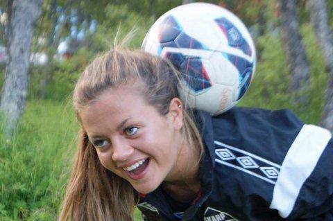 ETABLERT: Gabrielle Lie har etablert seg i startelleveren til Røa denne sesongen. Her fra tida i Skarp.