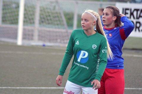 IKKE MED: Celine Nergård er ikke med i J17-troppen til sommerens EM.