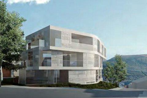 VIL BYGGE: Her kan det bli 35 eksklusive leiligheter i Tromsø.