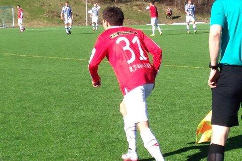 KOM INN: Finn Hågen Krogh fikk spille de siste ti minuttene for Tverrelvdalen lørdag.
