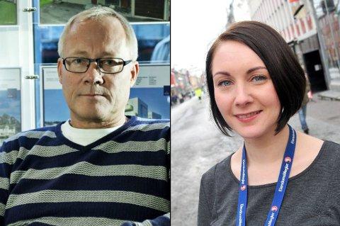TIPS OG TRIKS: Børge Martinussen i Eie Eiendomsmegling og Cecilie-Marie Storslett i Eiendomsmegler 1 deler sine tips om hvordan man kan øke verdien av boligen før salg.