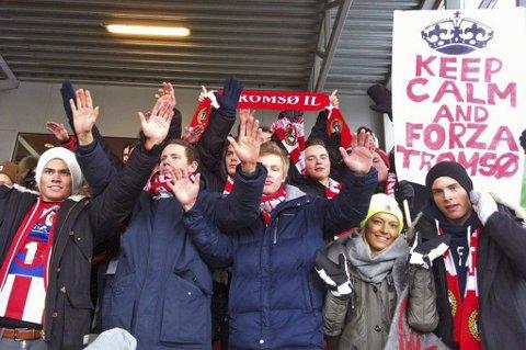 TILs supporterklubb Forza Tromsø.