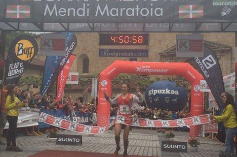 VANT: Yngvild Kaspersen vant sesongens første verdenscup i Zagama.