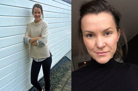 Bente Viken har alltid vært slank. Hun synes ikke det er riktig at folk kommenterer vekta hennes av den grunn. Foto: Privat