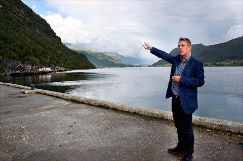 Gunnar Wilhelmsen  vil gjerne leie ut militærbasen på Olavsvern til amerikanerne. - Dersom det kommer en slkik henvendelse stiller vi opp. Foto