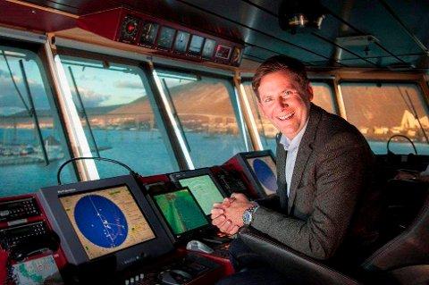 Administrerende direktør Daniel Skjeldam i Hurtigruten.