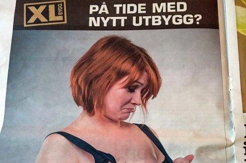 TREFFER IKKE SPIKEREN: Denne annonsen får reklameeksperter til å tordne. (Foto: Nettavisen/Tipser)