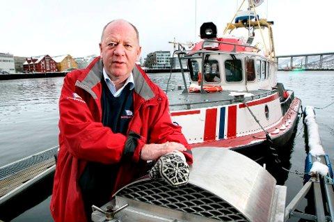 Arild Braathen, daglig leder i Redningsselskapet i Troms, husker hendelsen i 2012.