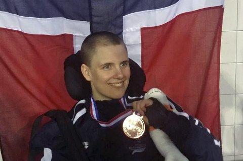 NYTT EM-GULL: Ingrid Thunem tok sitt andre gull under EM for funksjonshemmede.
