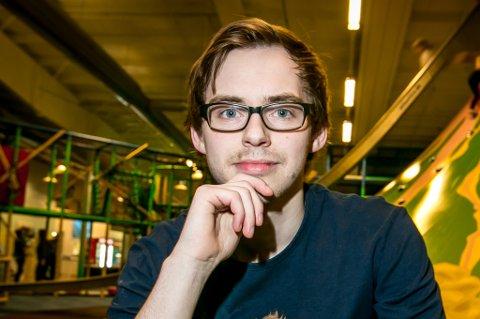 Tobias Lundestad Jørgensen er nå nestleder på Leos lekeland. Foto: Torgrim Rath Olsen
