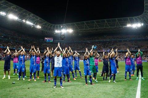 HØSTER SKRYT: Islands EM-prestasjon imponerer TIL-spillerne.