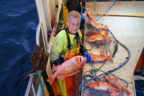 YRKESFISKER: Edgar Leonard Hansen var yrkesfisker, og mye på sjøen med sjarken «Kristine». Natt til mandag for én uke siden, ble båten funnet på bunnen av Reisafjorden. Hansen er antatt omkommet, men ikke funnet.