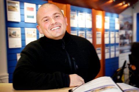INVESTOR: Thomas Bugge, tidligere eiendomsmegler i Tromsø, nå investor, er inne på eiersiden i gründerselskapet GPS Ping. Det er også Beate Stormo fra Tromsø.