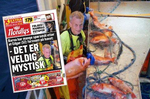 YRKESFISKER: Edgar Leonard Hansen var yrkesfisker, og mye på sjøen med sjarken «Kristine». Natt til mandag for én uke siden, ble båten funnet på bunnen av Reisafjorden. Hansen er antatt omkommet, men ikke funnet. Saken om Edgar står på trykk i Nordlys 27. juli. Flere av avisens utgave manglet noen saker. De kan du lese her.