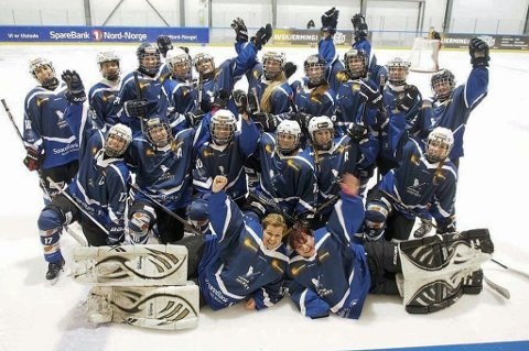 Tromsø Hockeys damelag er klar for eliteserie neste sesong.