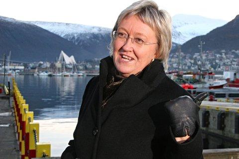 FLYTTEKLAR: Elisabeth Aspaker har kjøpt bolig i Tromsø, og flytter til byen allerede i september.