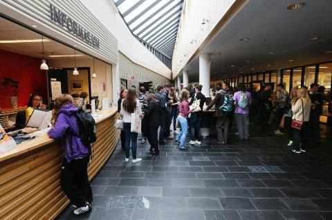 MANGE STRØK: De fleste strøk på eksamen etter forkurs i matematikk på Nord Universitet i Bodø i sommer. Arkivfoto.