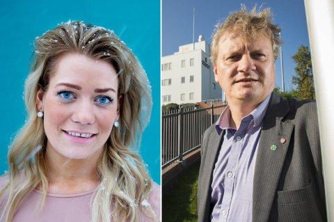 STORTINGSKAMP: Det brygger an til nominasjonskamp mellom Sandra Borch og Ivar B. Prestbakmo om førsteplassen til Troms Sp til neste års stortingsvalg.