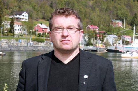 Ordfører Dan Håvard Johnsen i Lyngen kommune.
