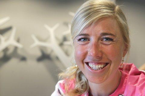 Kristin Størmer Steira har god grunn til å smile om dagen. I januar venter hun og ektemannen Devon Kershaw barn sammen.